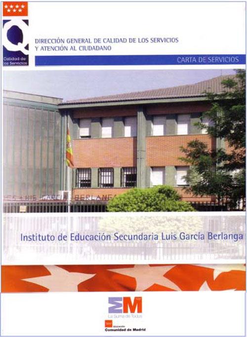 carta de servicios Instituto Luis García Berlanga
